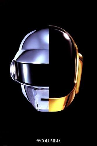 Daft Punk - Helmet Poster Drucken (60,96 x 91,44 cm)