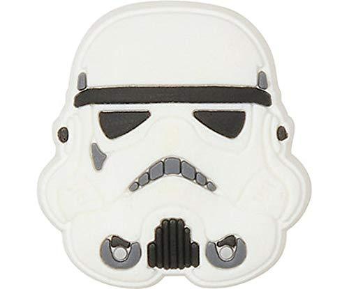 Crocs Star Wars Stormtrooper Helmet Schuhanhänger , Mehrfarbig,