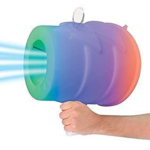 AirZooka air Blaster Toy, air Cannon Toy Fun air Gun, Launch a Powerful and Safe air Assault on Adults or Children and Animals, Best Prank Toy! (Light Up Color Changing)