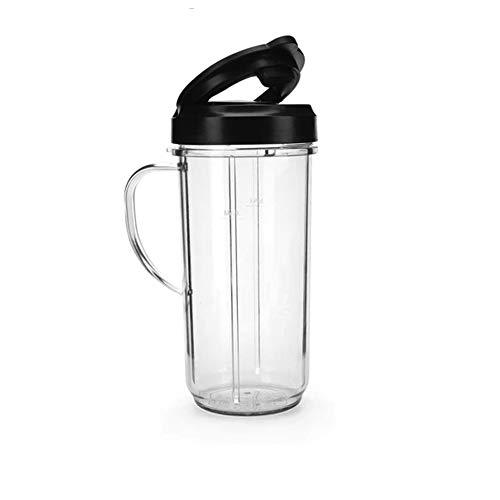 Magic Bullet 22 Ounce Travel Mug with Flip Top Lid, Black