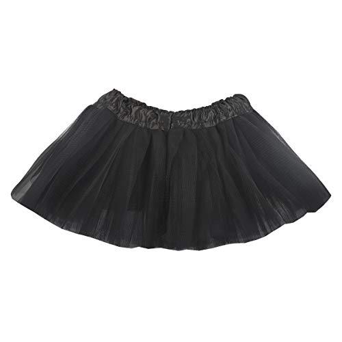 belababy Tutu Rock für Baby 5 Schichten Tüll Dress Up Tutus Infant Plissee Prinzessin Weihnachten Halloween Eve Prom Party Kleid (2-8 Jahre)