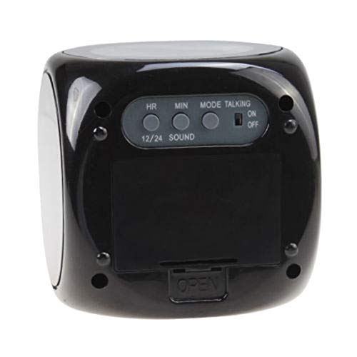 N/ A LCD-Projektion Nachtlicht LED-Anzeigezeit Digitaler Wecker Sprechende Eingabeaufforderung Thermometer Snooze Function Desk