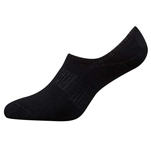 Fussvolk Sneaker Socken Herren Inshoesocks Frottee Farbe schwarz weiß blau bunt TOP Qualität, Size:39-42, Farben:black