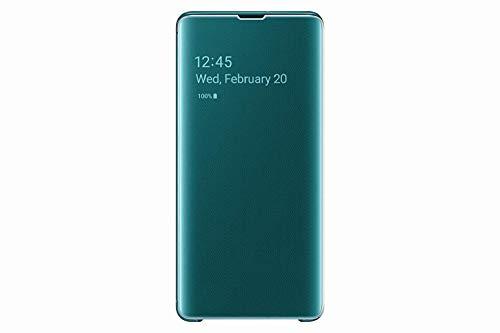 Samsung EF-ZG975CGEGWW Clear View Custodia per S10+, Verde