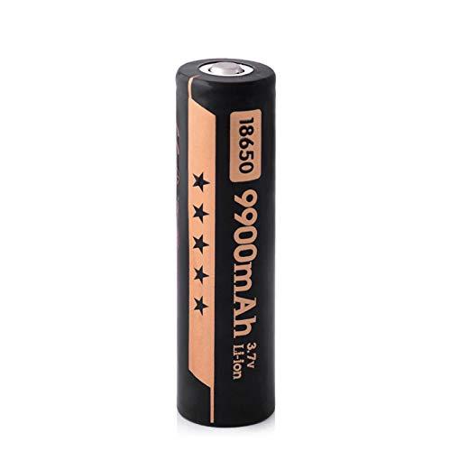 ZhanMazwj Batería De 3,7 v 9900 Mah 18650, Batería De Litio Recargable De Iones De Litio para Linterna Acumuladora De Antorcha 1PC