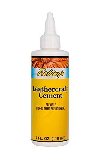 Fiebing's Leathercraft Cement Flexible Adhesive For Leather And Crafts - LeatherGlue