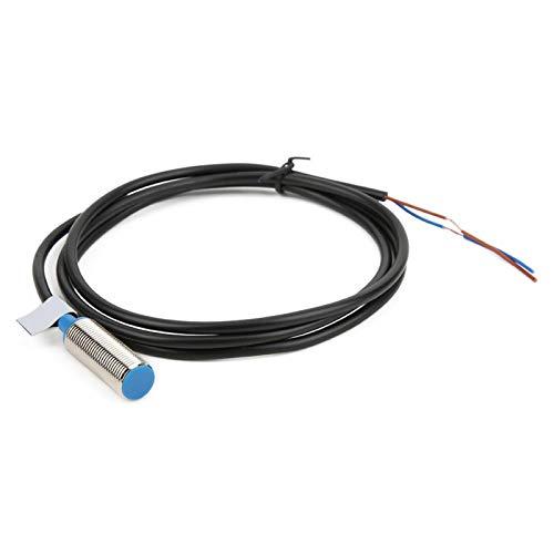 DAUERHAFT Interruptor de proximidad inductivo pequeño de Carcasa Corta de Metal magnético Sensor de proximidad GHG12-10A para Coche