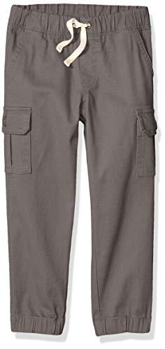 Amazon Essentials Jungen Cargohose, Grey, 8 Jahre