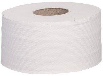 Blanc HYGIENIC Jumbo Toilettenpapier Set, 12 Rollen, 2-lagig, 200m je Rolle, Zellstoff - Halbe Palette (22 Set mit je 12 Rollen)