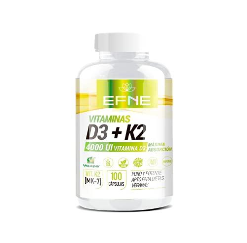 Vitamina D3 + K2 4000ui 100 Cápsulas