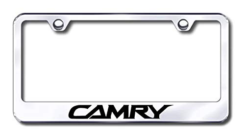 toyota camry chrome license plate - 1