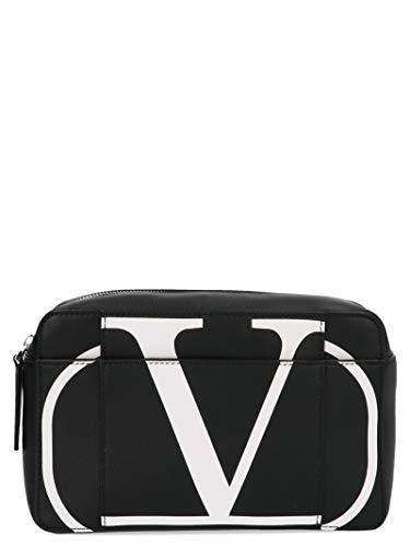 Luxury Fashion | Valentino Garavani Heren SY2B0836PCRNER Zwart Leer Heuptas | Herfst-winter 19