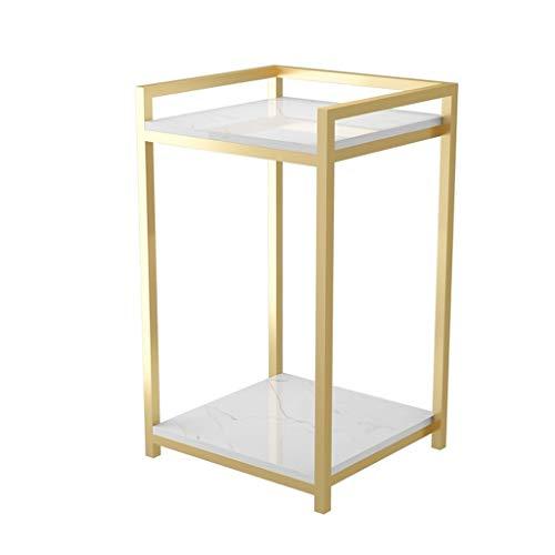 Mesas Auxiliares Mesa de café pequeño de la pequeña mesa de café pequeño nórdico Simple Sofa Mesa lateral puede estar en movimiento Sala de estar pequeña mesa de café de lujo Mesa de cama de lujo Deco