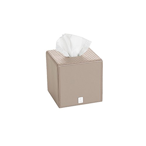 JOOP! BATHLINE, Papiertuchbox quadratisch, Grau