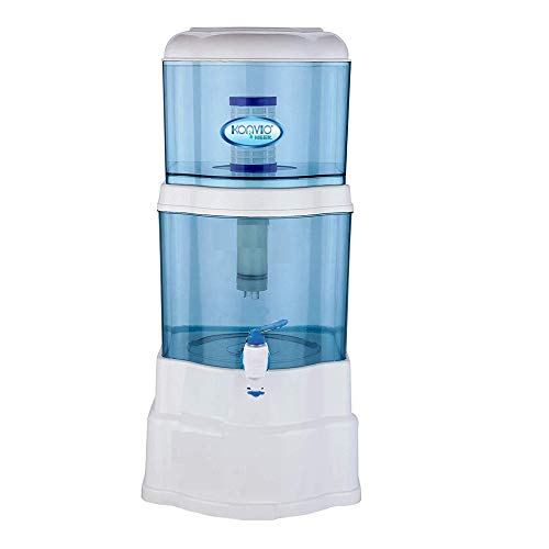 Konvio Neer Gravity Based Non-Electric Water Filter and Purifier With Plastic Tap (UF gravity)
