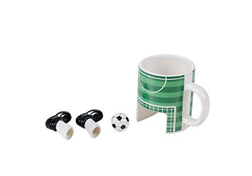 Winkee Sport Kaffeebecher Fußball inkl. Ball & Schuhe