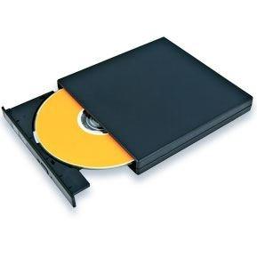 Masterizzatore Slim USB 2.0 DVD CD R/RW per PC Portatile. Cavo di Alimentazione e Cavo USB Inclusi. Leggero e Sottile. Plug and Play.Ideale per Acer Aspire One, Apple MacBook Air Pro Retina, Asus Eee PC, Dell Mini, HP Mini, MSI Wind, Samsung N Series, Sony VAIO, Toshiba Mini etc. 1 Anno di Garanzia - Nero