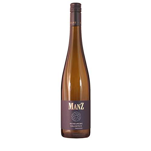 Manz Wein GbR 2020 Scheurebe trocken Kalkstein Dt. Qualitätswein 0.75 Liter