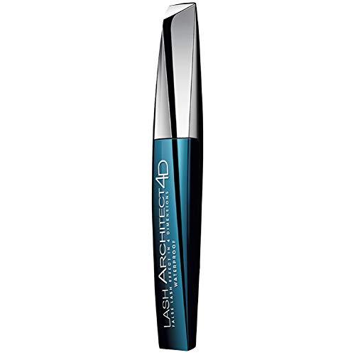 L'Oréal Paris Lash Architect 4D in schwarz Waterproof, wasserfeste Mascara für ein atemberaubendes Wimpernstyling in 4D, 10,5 ml