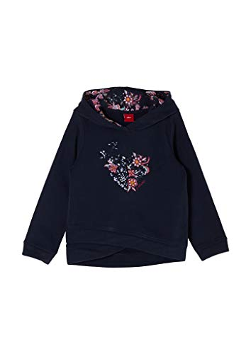 s.Oliver Junior Mädchen 403.10.011.14.140.2053571 Sweatshirt, 5952, 104/110 cm Regular