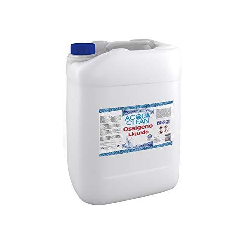 Ossigeno liquido Acqua Clean manutenzione trattamento acqua piscine Lt. 1 5 10 20 (10 Litri)