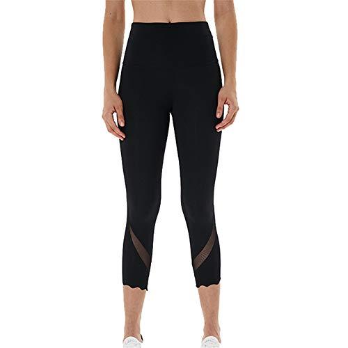 LYHLYH Fitness yoga broeken, vrouwen hoge taille yoga broek Mesh stiksels zweetafvoerende joggingbroek voor Yoga Training Gym Sport