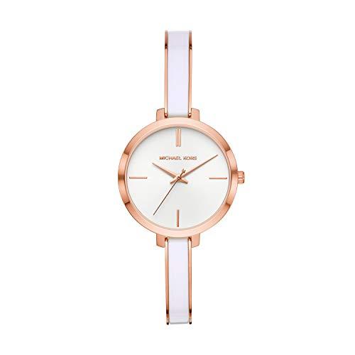 Michael Kors Reloj Analógico para Mujer de Cuarzo con Correa en Acero Inoxidable MK4342