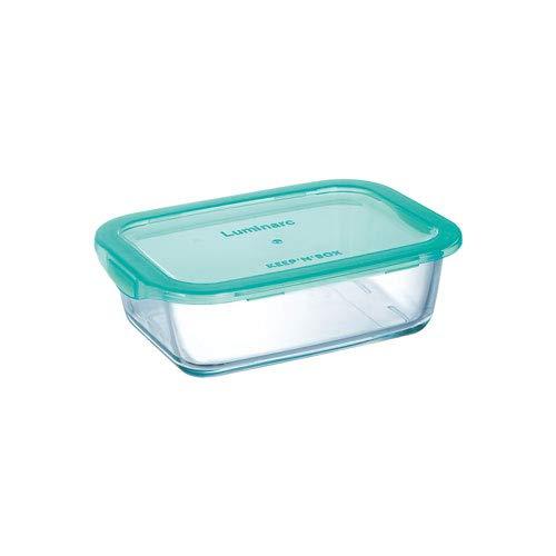Luminarc Aufbewahrungsdose Keep n Box, klein, 0,82 Liter - Vorratsdose Rechteckschale