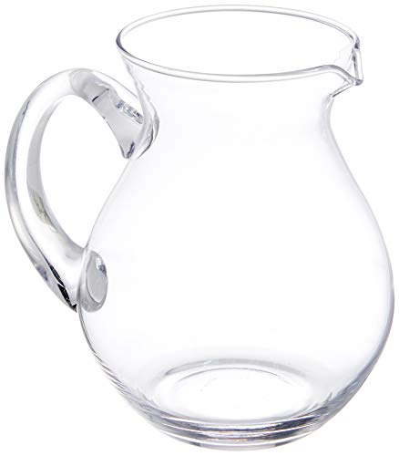 Kela Saft-/Wasserkrug aus Glas, Roberta, 1 L, 12154