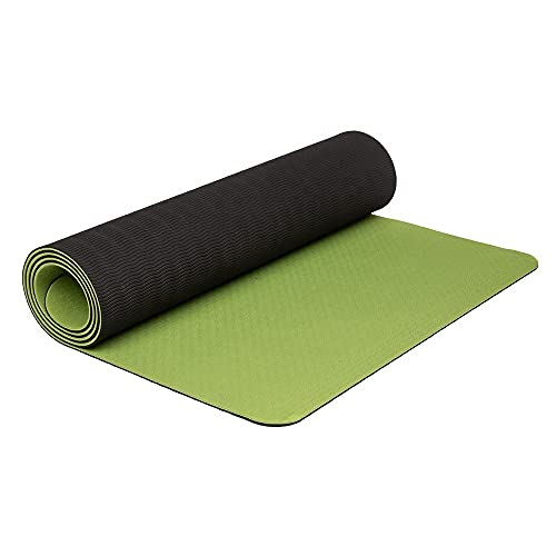 TILEJ Yoga Mat, Yoga Mat for Workout Eco Friendly Exercise Mat for Home Gym, Fitness Mat...