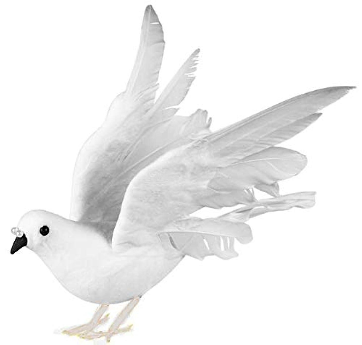 white dove. size 10''