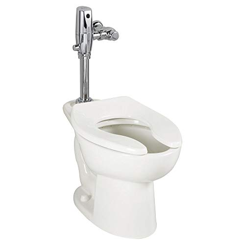 American Standard 3451.001.020 Madera Everclean 15-Inch Universal Top Spud Floor Mount Toilet Bowl, White