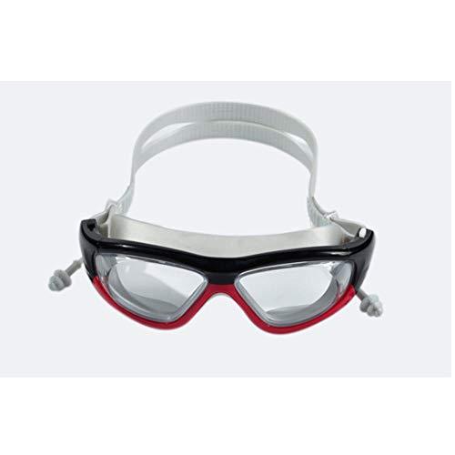 AnnChuXia Gafas de natación con tapón auditivo Gafas de buceo antiniebla Protección Gafas de natación Gafas de buceo
