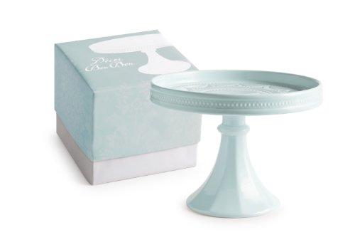 Rosanna Decor Bon Bon Hue Rimmed Pedestal, Small, Blue