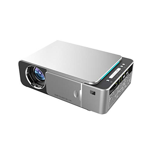 Yanghao , LED Proyector 4K HDMI Full HD 1080P De Cine En Casa Proyector De Vídeo Compatible con HD Portátil,Plata