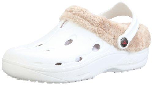 Chung Shi Unisex-Erwachsene Dux Winter Clogs, Weiß (Weiss 8900021), 43 EU (XL)
