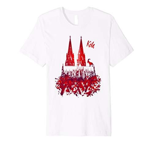 Köln Geißbock Kölner Dom T-Shirt