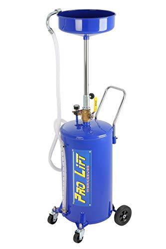 Pro-Lift-Werkzeuge Ölauffangwagen 68 l pneumatisch Altöl-Auffanggerät 68l Ölbehälter Ölablassgerät