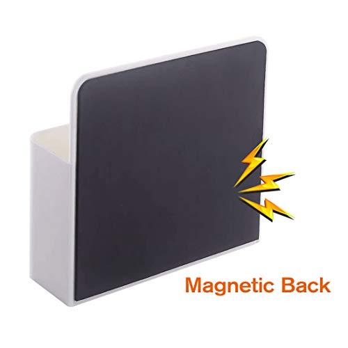 1 Pack Magnetic Dry Erase Marker Holder, Whiteboard Marker Holder, Mighty-magnetic Marker Pen Organizer for Whiteboards (White) Photo #6