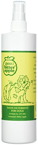 Grannick's Bitter Apple for Dogs Spray Bottle, 16 Ounces (2-Pack)