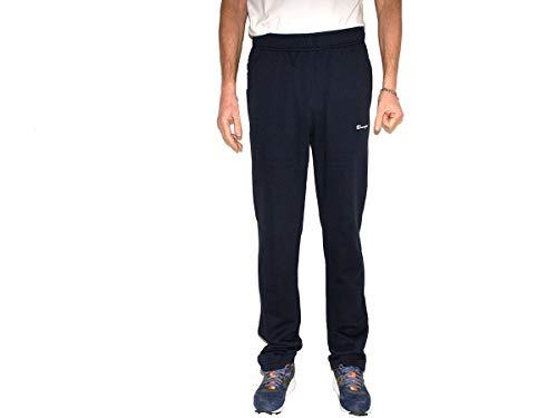 Champion Pantalone Tuta Straight Hem PANTAL. Uomo Navy 215095 M