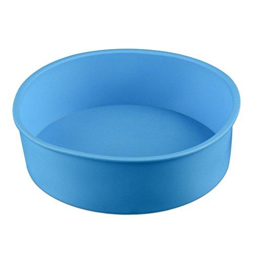 JasCherry Flexibel und Antihafteigenschaft Silikon Backform für Kuchen - BPA-frei Rund Ø 17 cm #2