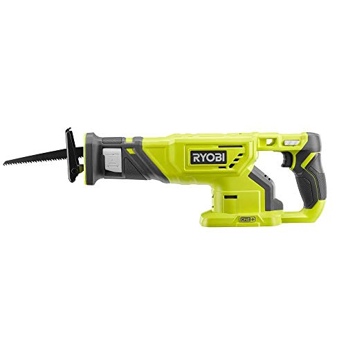 RYOBI 18-Volt ONE+ Cordless Reciprocating Saw (No Retail Packaging/Bulk Packaging) (Bare Tool, P519)