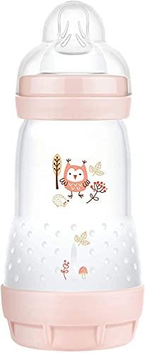 Instrucciones en lengua extranjera - MAM Easy Start - Biberón anticólicos (260 ml) Botella de Leche para la Lactancia Materna con válvula Inferior contra cólicos y tetina tamaño 1