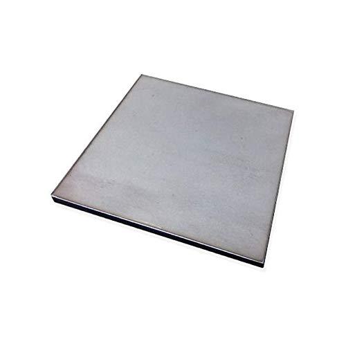 SOFIALXC Edelstahlblech Zuschnitte 304 Edelstahlplatte-100x100mmThickness: 6mm