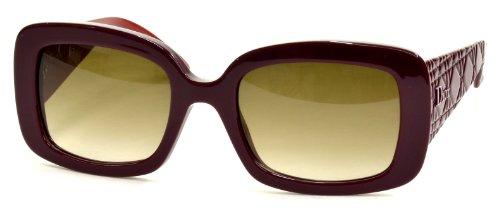 Gafas de sol Dior Mujer DIORLADYLADY2 CC EL7 53, Cyclamen Red / Brown Sf
