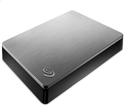 Seagate Backup Plus Portable 4TB External Hard Drive HDD (STDR4000900),Silver