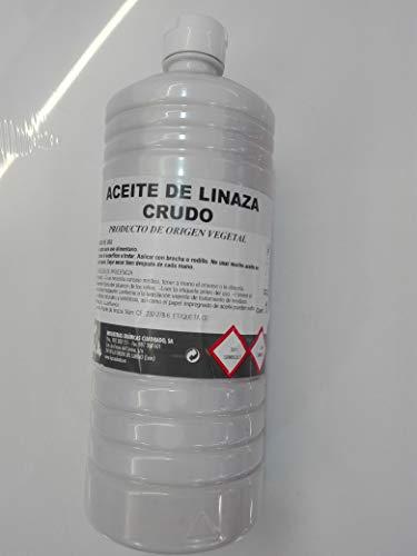 ACEITE DE LINAZA CRUDO SIN SECANTE TOTALMENTE PURO PRODUCTO DE ORIGEN VEGETAL EN FRASCOS...