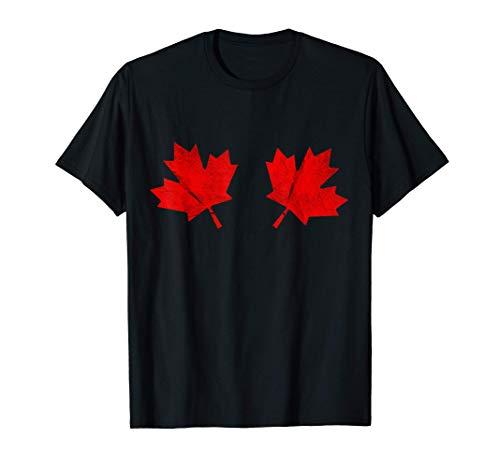Ahornblatt Bikini BH Kanadisches Blatt Kanada Kostüm T-Shirt