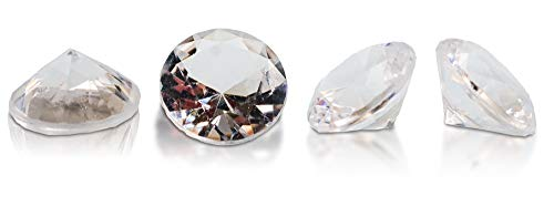 Brynnberg 30 Deko-Diamanten Größe: 30mm Weiß Transparent